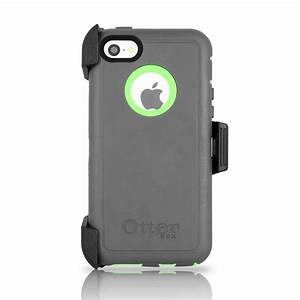 OtterBox Defender iPhone 5C Case & Holster Cucumber Gray ...