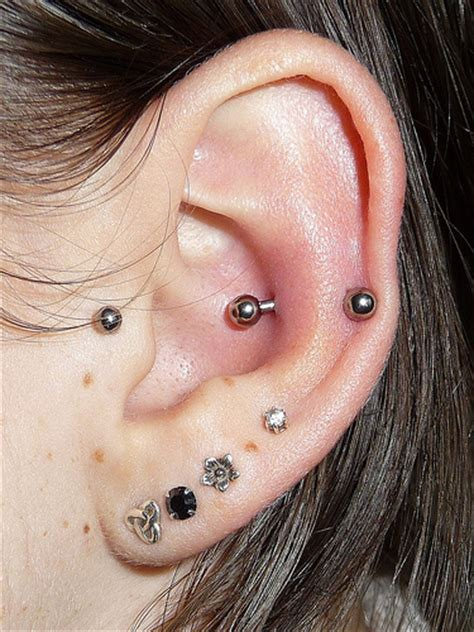 helix piercing images  pictures