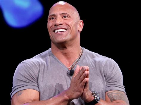 dwayne johnson  rock eats sweets    time