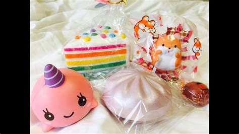 amazing rainbow cake silly squishies package