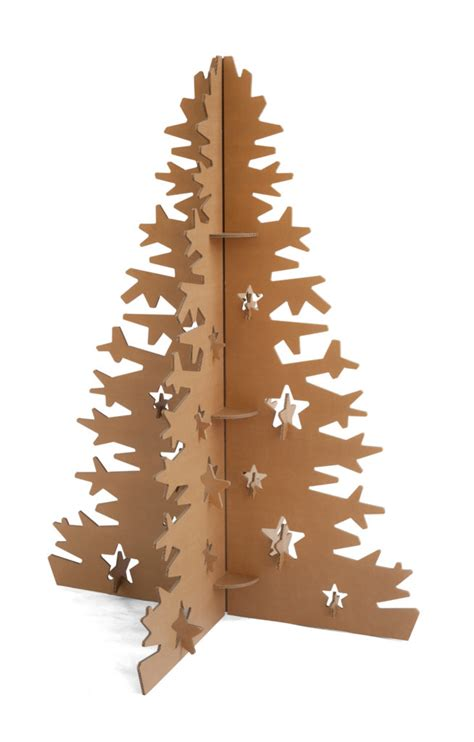 Como Hacer Un Arbol De Carton 193 Rbol De Navidad De Cart