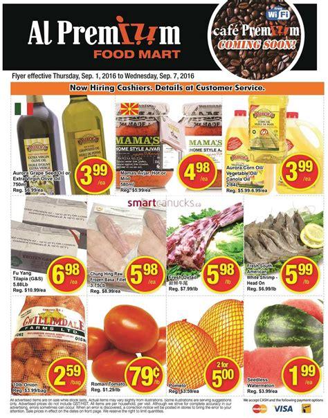 premium cuisines al premium food mart flyer september 1 to 7