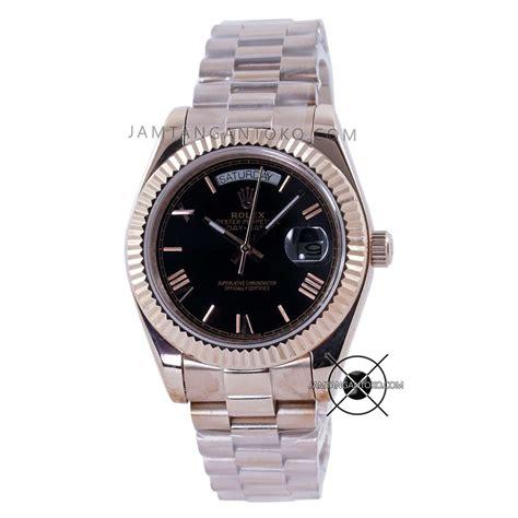harga sarap jam tangan rolex president day date everose