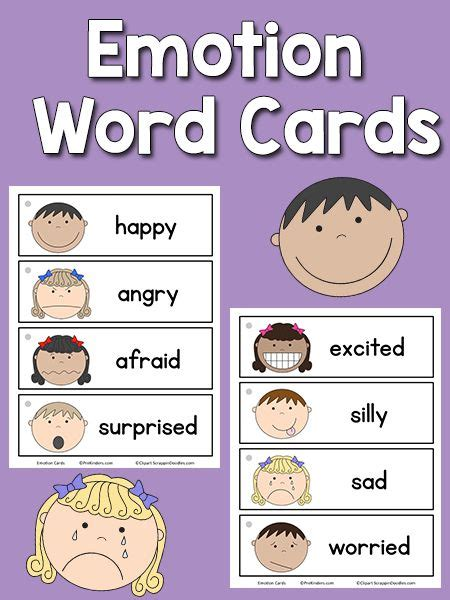best 25 emotion words ideas on list of 668 | 36ff6a495a95630e4c7e86dbeecb1e78 printable emotion cards writing center word cards