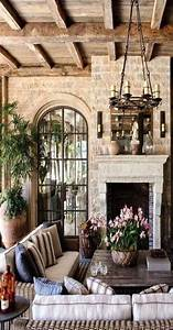 40, Cozy, Tuscan, Living, Room, Make, Over, Decor, Ideas