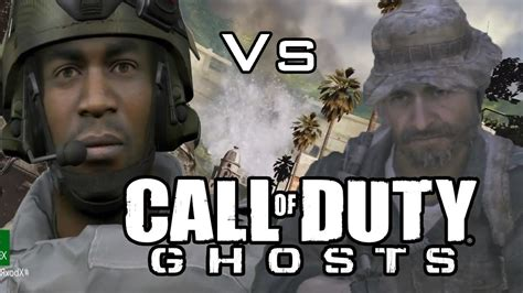 call  duty ghosts  mw graphics xbox