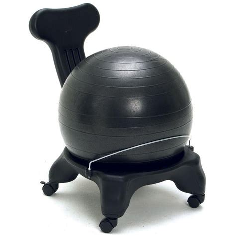 balance chair with back support