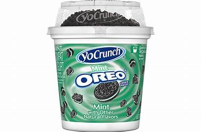 Yogurt Oreo Yocrunch Pieces Mint Cookie Toppings