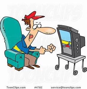 Cartoon People Watching Tv | www.imgkid.com - The Image ...