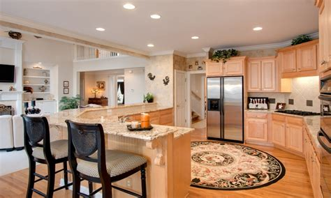 small kitchen open floor plan open concept kitchen plans small open concept floor plans 8086