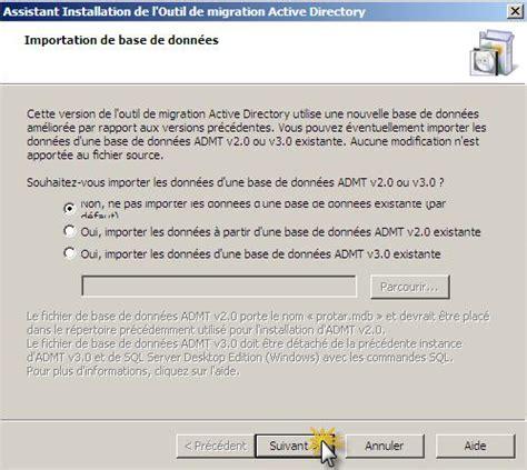 guide dinstallation dadmt sous windows server