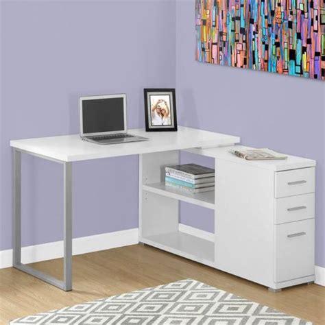 bureau d angle blanc laqué un bureau informatique d 39 angle quel bureau choisir pour