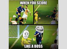 Kalinic like a boss vs Spain! Troll Football