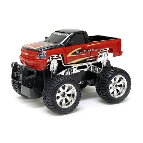 toy monster truck videos for 1 24 scale rc remote radio controlled chevy silverado