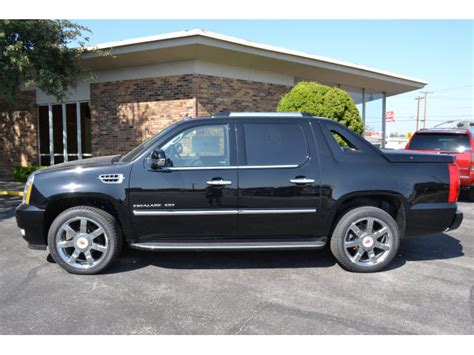 Cadillac Escalade Ext 2013 Black Suv Luxury 8 Cylinders