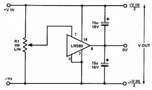 Simple split power supply circuit diagram electronic for Transformer circuit diagram basiccircuit circuit diagram