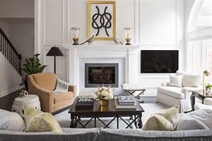 Décoration Dessus Cheminée : 28 ideas para decorar la chimenea de casa ~ Voncanada.com Idées de Décoration