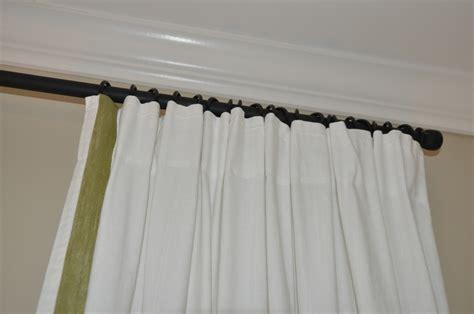 diy ikea riktig ribbon trimmed curtains eastside mommy