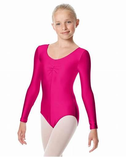 Leotard Sleeve Ballet Giselle Leotards Shiny Dancewear