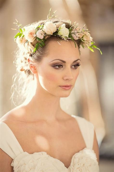 wedding hairstyles  crown elle hairstyles