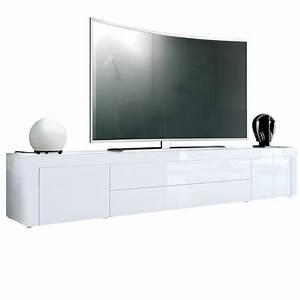Tv Lowboard Mit Tv Halterung : tv unterschrank la paz lowboard mit hochglanz absetzung ~ Michelbontemps.com Haus und Dekorationen