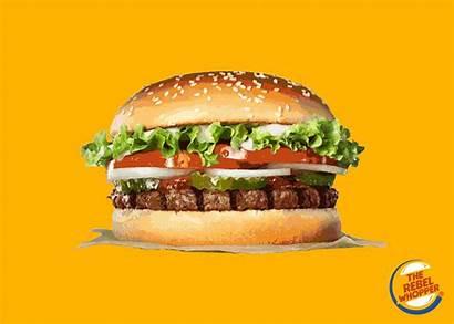 Burger Whopper King Rebel Face