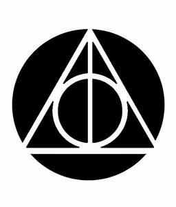 deathly hallows pumpkin stencil halloween 2014 pinterest With harry potter pumpkin carving templates