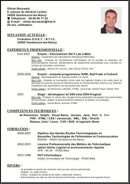 Preparing A Resume by How To Prepare A Cv Resume Cv Template Exles