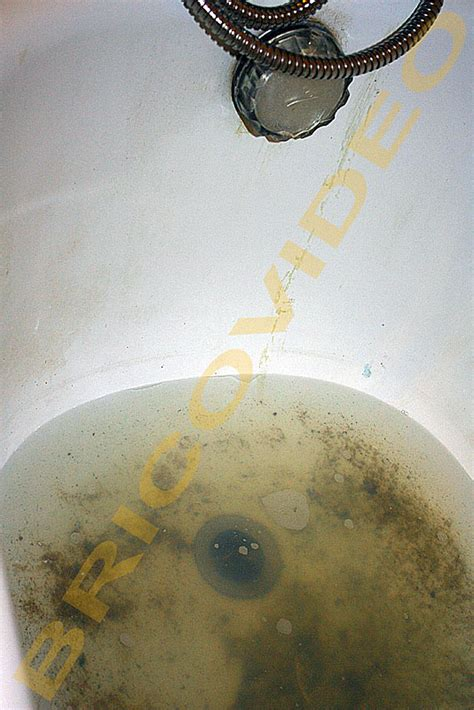 bricolage r 233 paration plomberie baignoire bouch 233 e