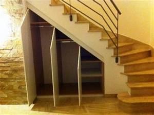 Aménagement Sous Escalier : am nagement sous escalier placard sous ecalier vannes ~ Preciouscoupons.com Idées de Décoration