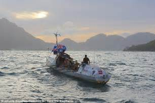 Automatic Boat Flag by Crew Successfully Rows 8600km Across The Indian