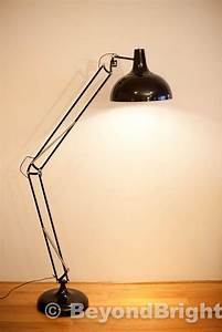 X large designer pixar floor lamp light 1 9m black modern for Large pixar floor lamp
