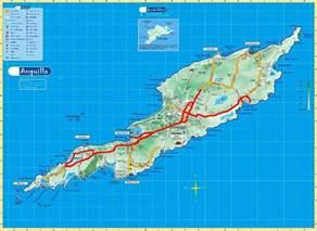 Anguilla Island Map