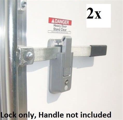 trailer door latch 2 ka self locking cargo trailer cambar door latch vise