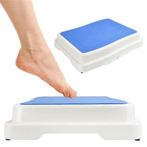 Shower Step Stool by Bath Step Stool Stack Able Safety Aid Disability Non Slip