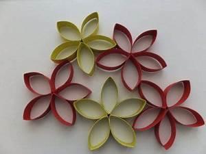 Blumen Aus Papier : blumen aus klopapierrollen recycling basteln pinterest basteln papier und klo ~ Udekor.club Haus und Dekorationen