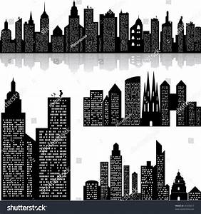 City Skyline Vector Background Stock Vector 45203017 ...