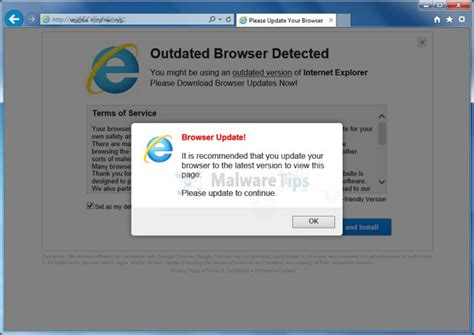remove update browserorg pop  virus removal guide