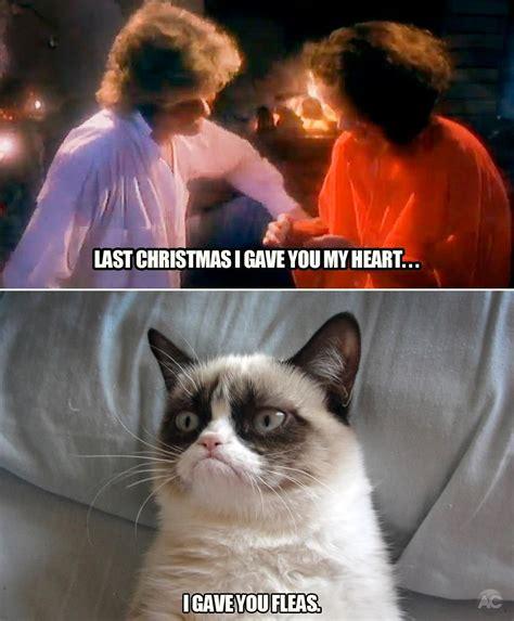 Last Christmas Meme - last christmas grumpy cat grumpy cat meme and meme