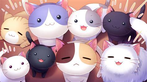 hd anime cat background pixelstalknet