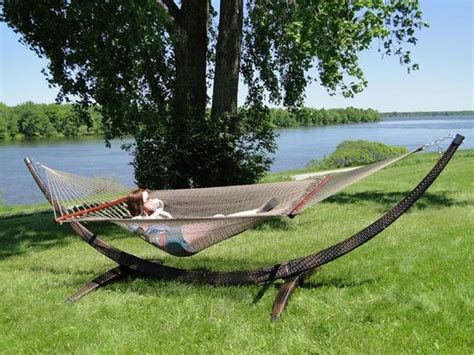 Buy Hammocks by Rope Hammock With Wicker Stand Buy Hammock