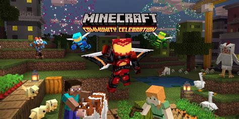 Minecraft Community Celebration Releases Free Content And Maps
