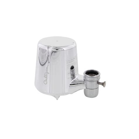 culligan faucet water filter 200 gal boxed culligan fm 25 chrome faucet mount filtration system ebay