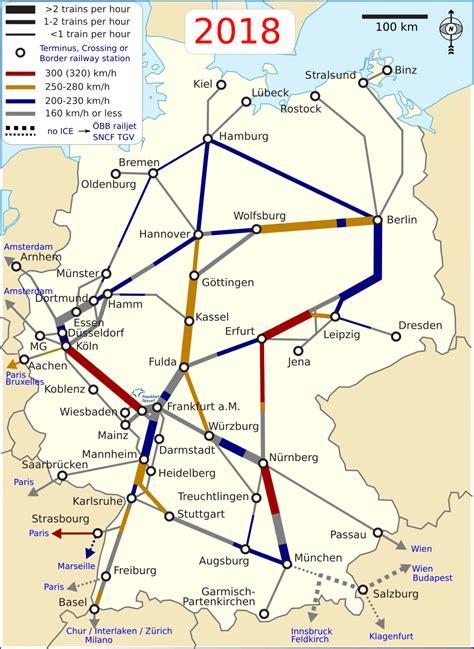 liste der intercity express linien