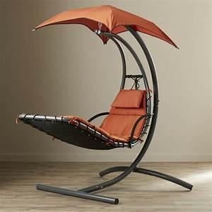 Pied Fauteuil Suspendu : chaise longue suspendue et fauteuil relax ~ Teatrodelosmanantiales.com Idées de Décoration