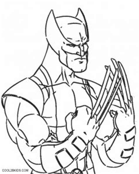 printable wolverine coloring pages  kids coolbkids