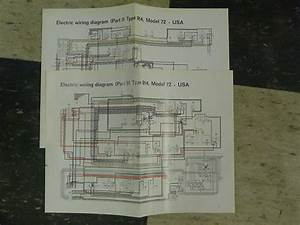 Porsche 914 Factory Original Color Wiring Diagram