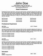 3 Free Retail Sales Associate Resume Templates Skills And Accomplishments Resume Examples Resume Format Unforgettable Merchandiser Retail Representative Part Time Retail Manager Resume Examples Template Idea