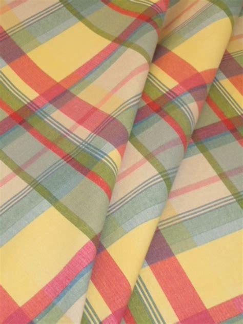 Pattern Sundown Stripe Plaid Decorator Fabric