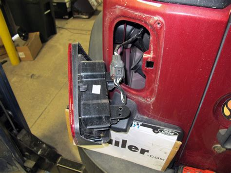 Jeep Wrangler Curt Connector Vehicle Wiring Harness